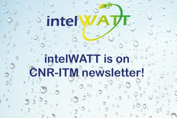 Intelwatt project and the kick-off meeting at the CNR-ITM Newsletter
